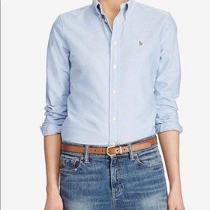 Tops - Blue Ralph Lauren shirt